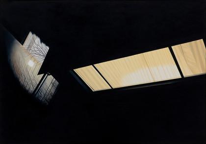 Oertig-Willi_Tiefgarage-und-Atelier,-2011_oel-auf-Leinwand_70-x-100-cm